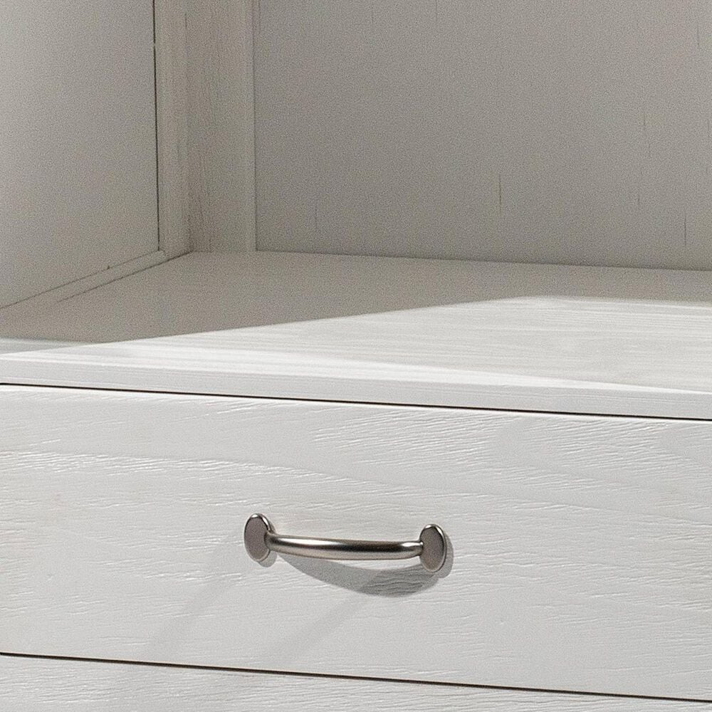 Richlands Furniture Highlands 1 Drawer Nightstand in White, , large