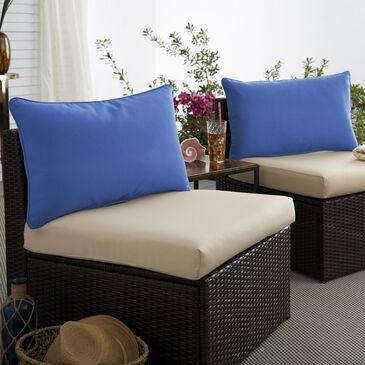 "Sorra Home Sunbrella 16"" x 26"" Pillow in Canvas True Blue (Set of 2), , large"