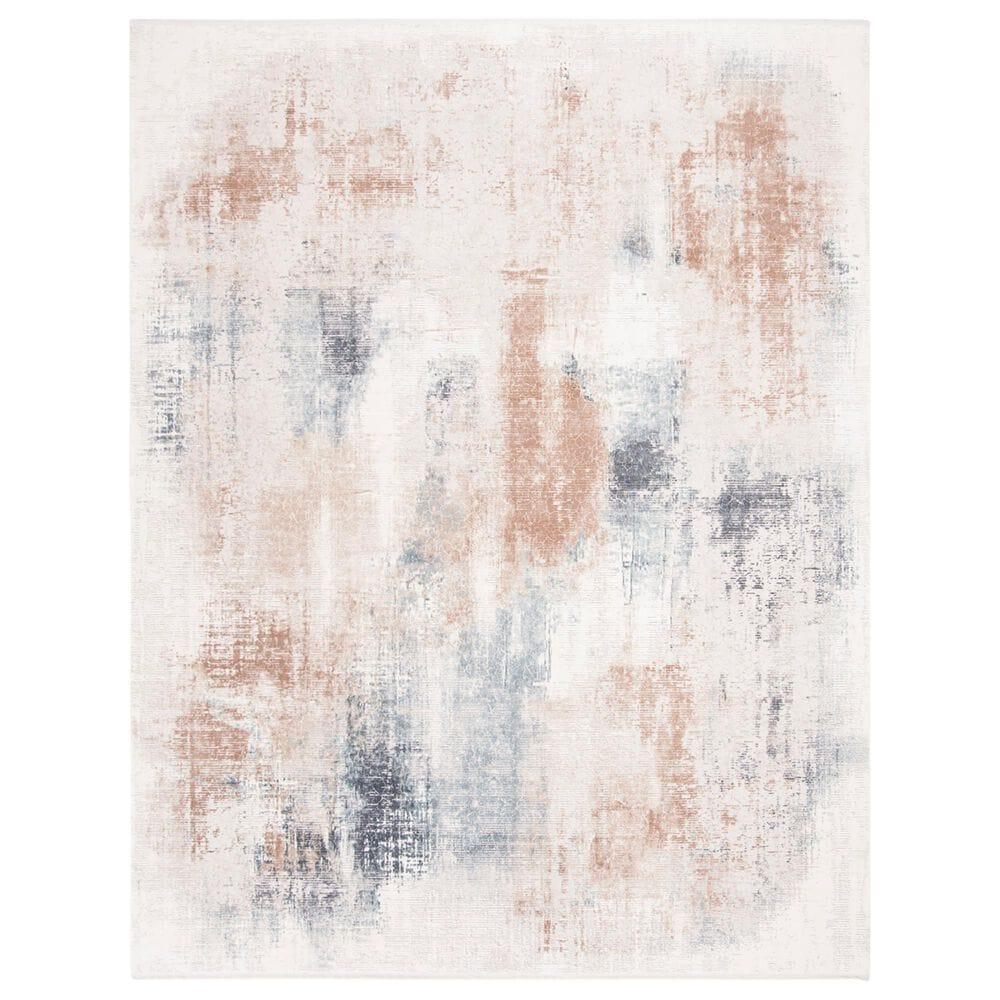Safavieh Eclipse 8' x 10' Beige and Blue Area Rug, , large