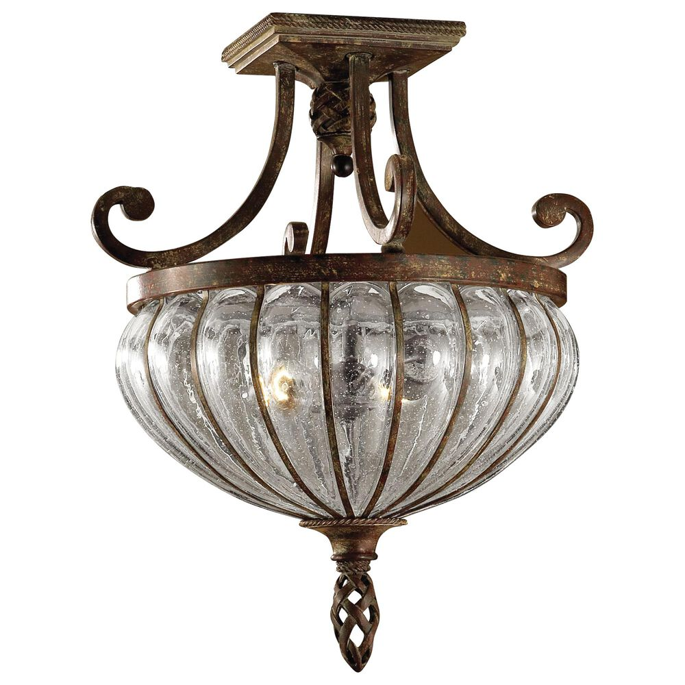 Uttermost Galeana 2-Light Semi-Flush Mount, , large