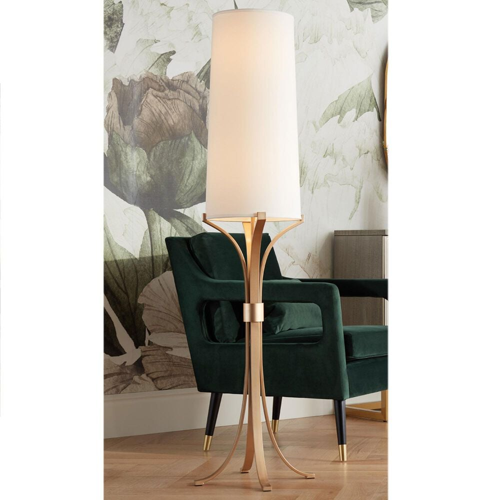 Pacific Coast Lighting New Haven Floor Lamp in Warm Gold, , large