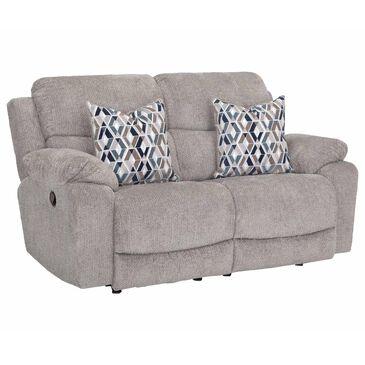 Moore Furniture Dayton Rocking Reclining Loveseat in Nucleus Fog, , large