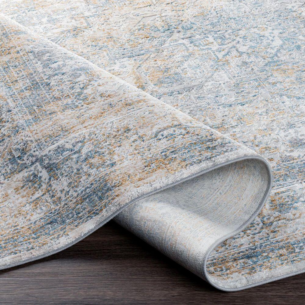 Surya Carmel 9' x 12' Medium Gray and Taupe Area Rug, , large