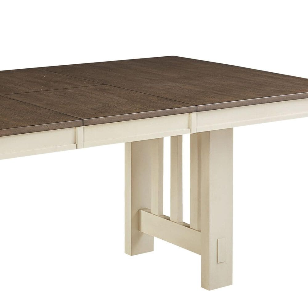 A-America Bremerton Dining Table in Saddle Dust and Oyster - Table Only, , large