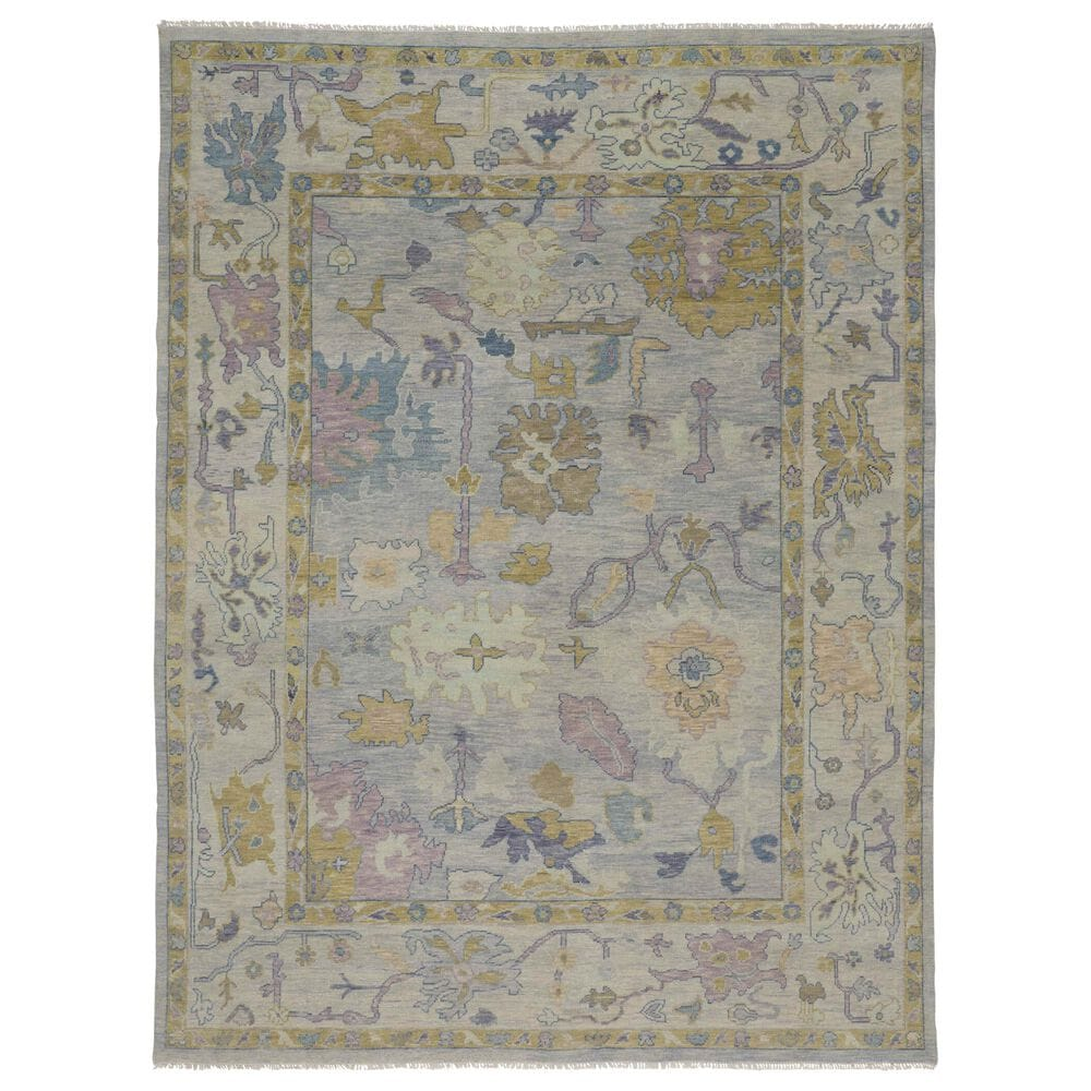 """Feizy Rugs Karina 3'6"""" x 5'6"""" Silver and Green Area Rug, , large"""