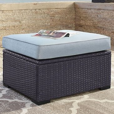 Firefly Biscayne Ottoman in Mist, , large