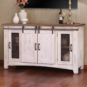 "Fallridge Pueblo 60"" TV Stand in Antique White, , large"