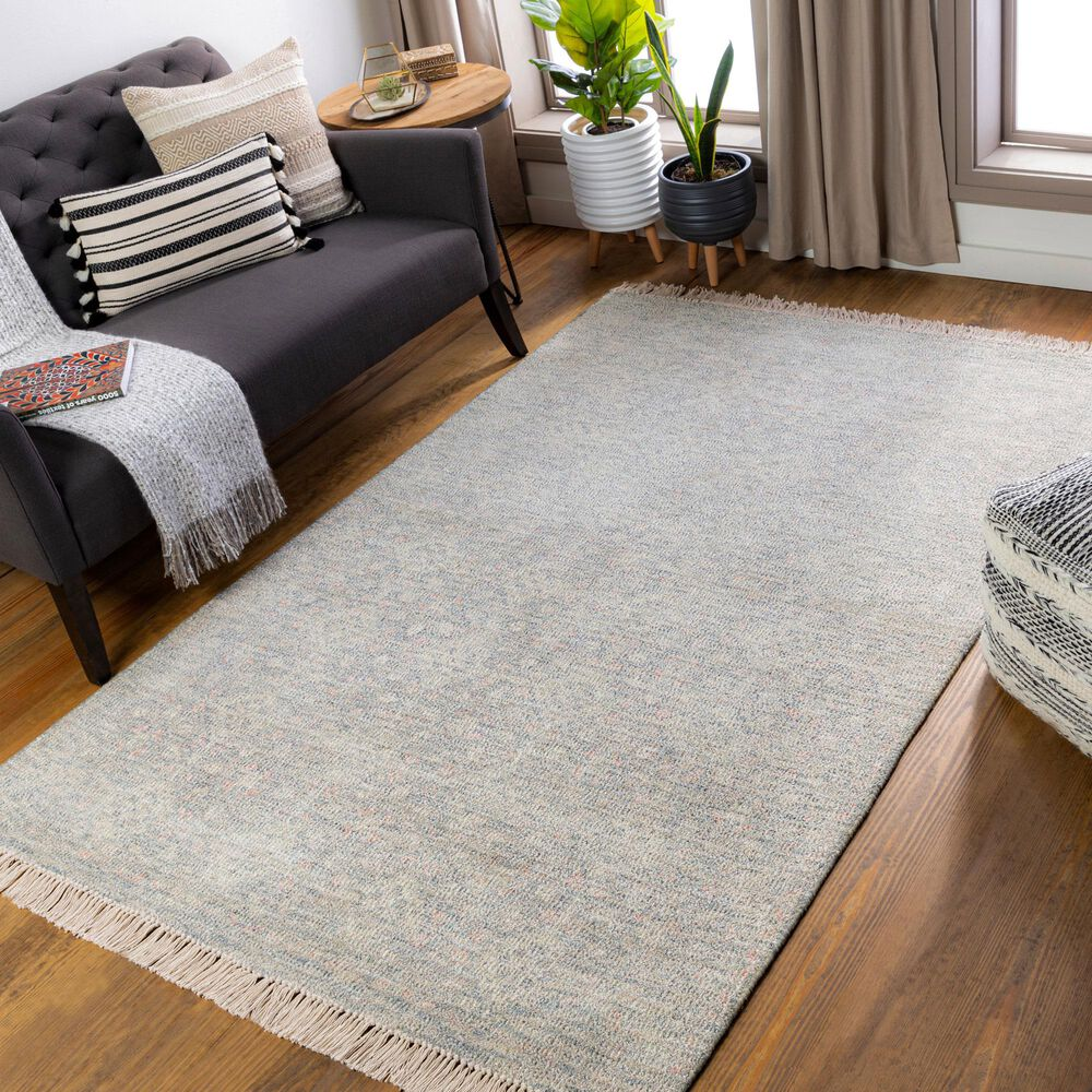 """Surya Amasya 8'6"""" x 12' Green, Ivory and Coral Area Rug, , large"""