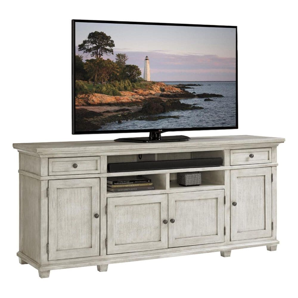 Lexington Furniture Oyster Bay Kings Point Large Media Console in Oyster, , large