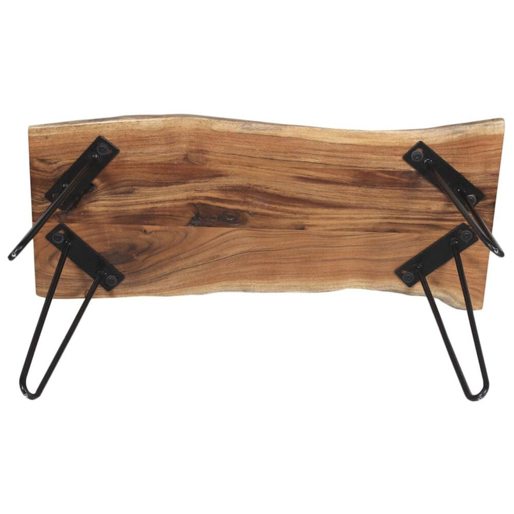 """Bolton Furniture Hairpin 36"""" Bench in Natural, , large"""