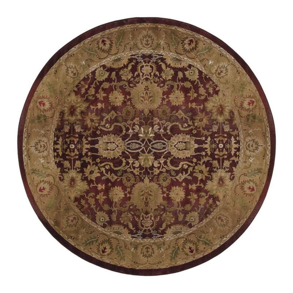 Oriental Weavers Generations 1732M 8' Round Purple Area Rug, , large
