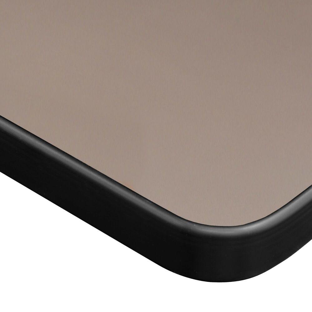 "Regency Global Sourcing Kobe 66"" x 30"" Mobile Training Table in Beige/Black, , large"