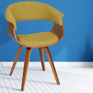 Blue River Summer Chair in Green and Walnut, , large