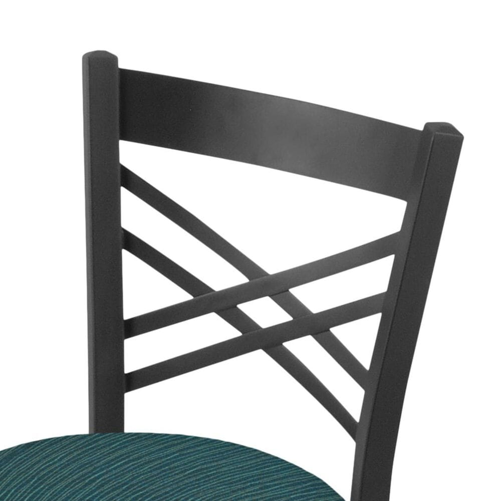"""Holland Bar Stool 620 Catalina 18"""" Chair with Pewter and Graph Tidal Seat, , large"""