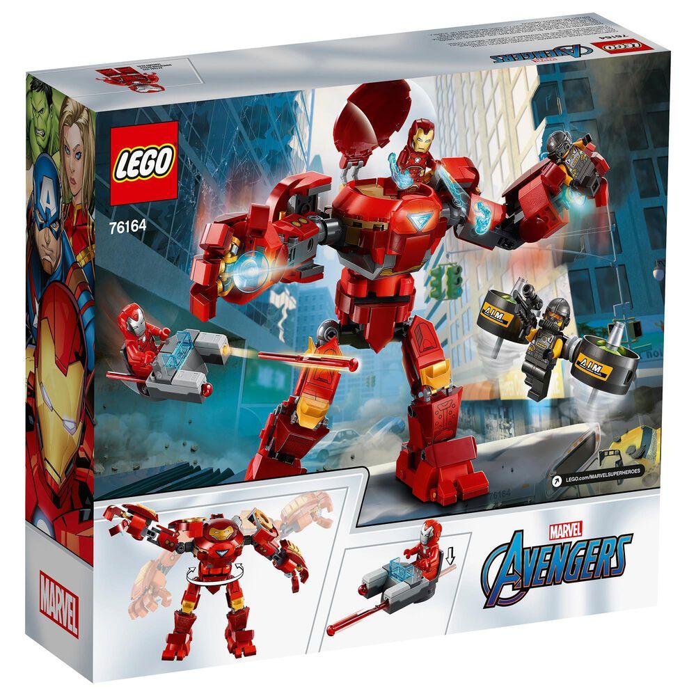 LEGO Marvel Iron Man Hulkbuster versus A.I.M. Agent Building Set, , large
