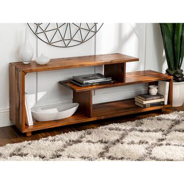"""Walker Edison 60"""" TV Stand in Amber, , large"""
