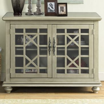 Martin Svensson Home Marche Small Spaces TV Stand in Antique Silver, , large