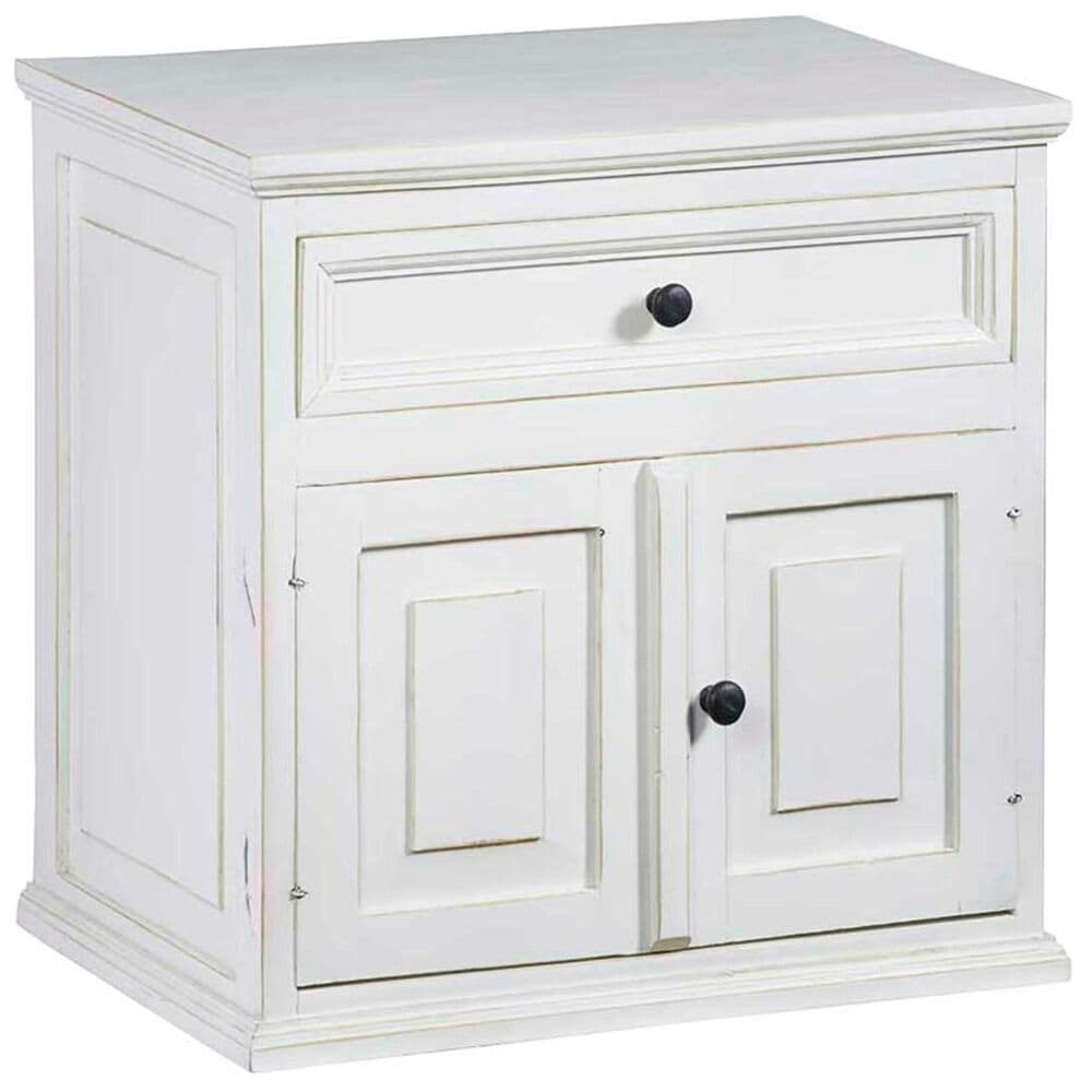 Tiddal Home Carli Nightstand in Vintage White, , large