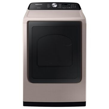 Samsung 7.4 Cu. Ft. Electric Dryer with Sensor Dry in Champagne, , large