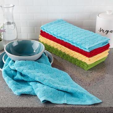 Timberlake Lavish Home Kitchen Towel in Multi Colored (Set of 8), , large
