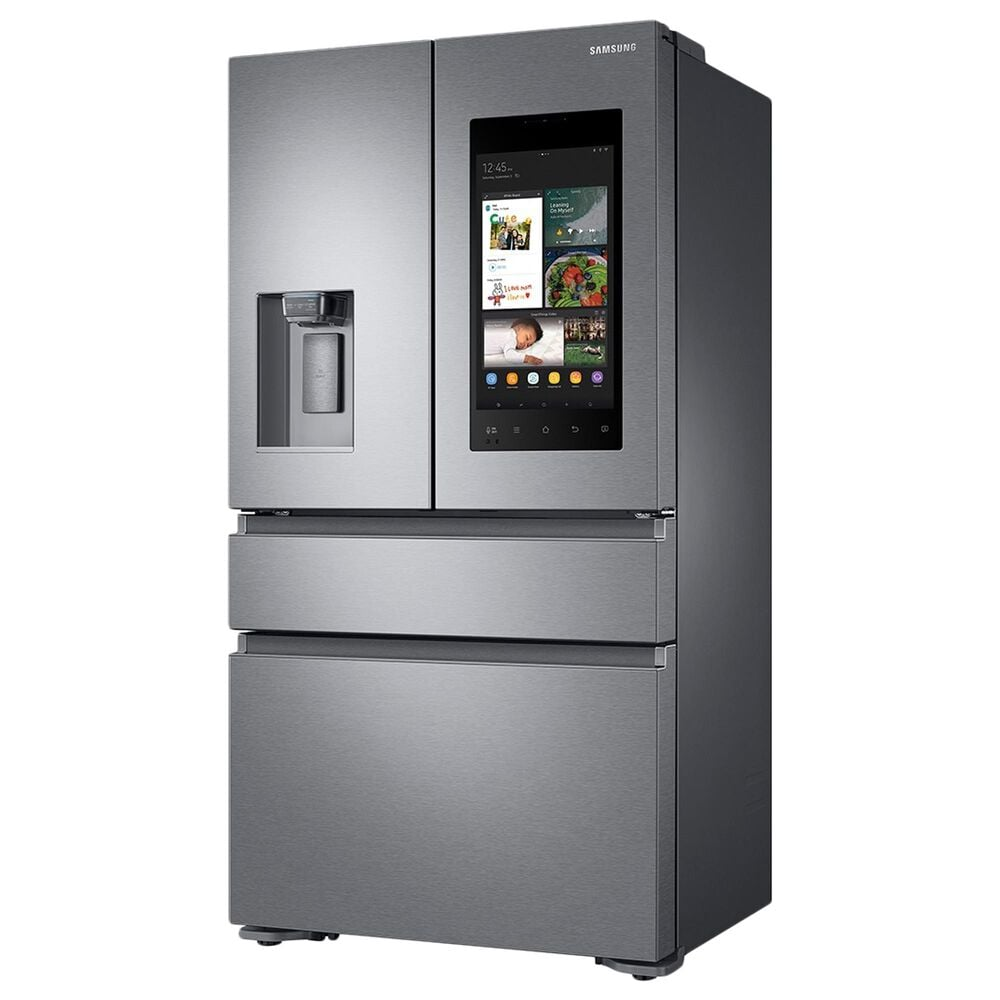 """Samsung 2-Piece Kitchen Package with 36"""" French Door Refrigerator and StormWash 48 dBA Dishwasher in Stainless Steel, , large"""