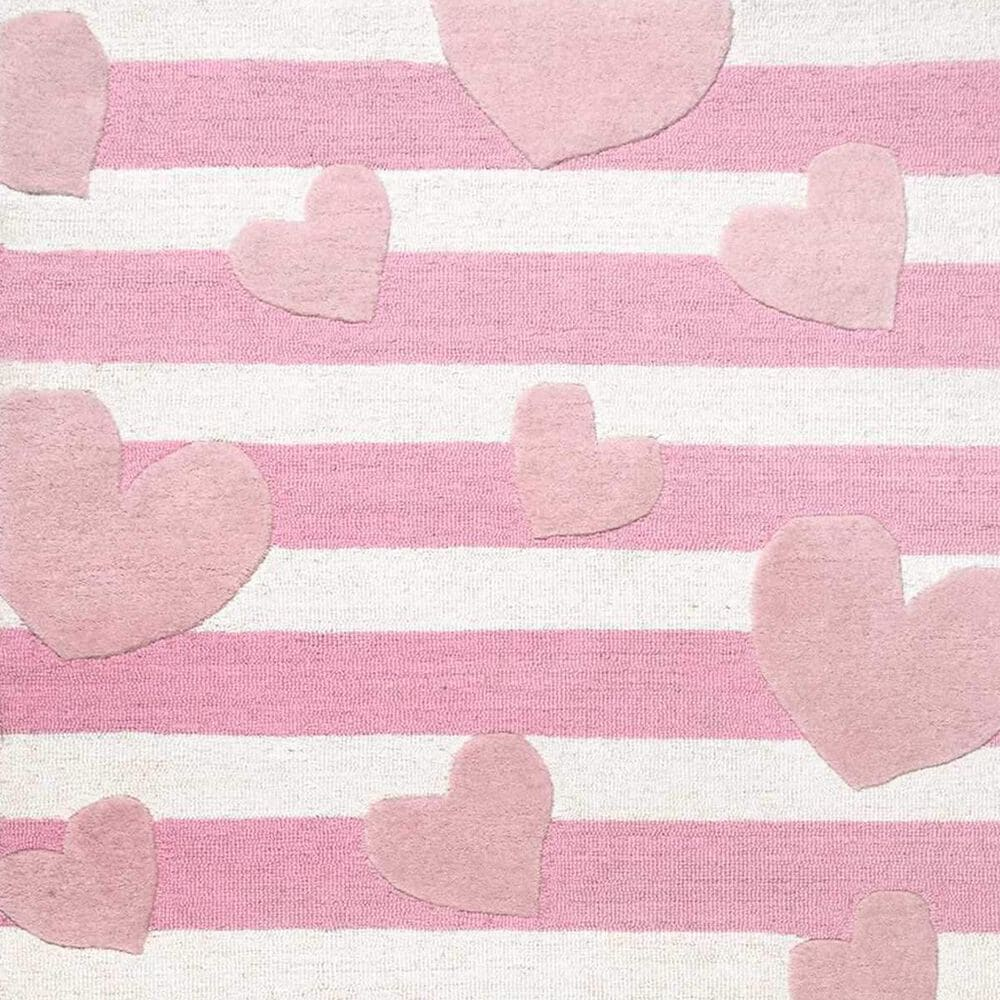 nuLOOM Irisa MTIR03A 3' x 5' Pink Kids Rug, , large