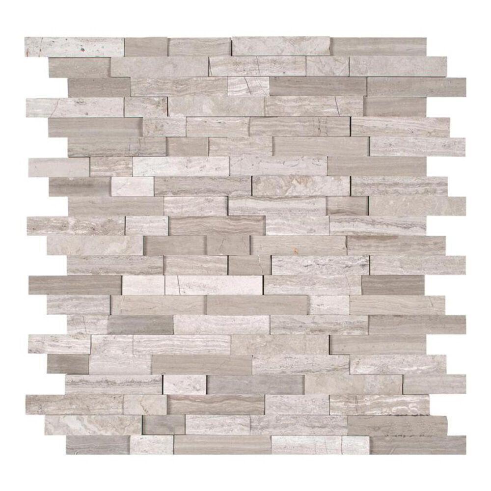 "MS International White Quarry 12"" x 12"" Natural Stone Mosaic Sheet, , large"