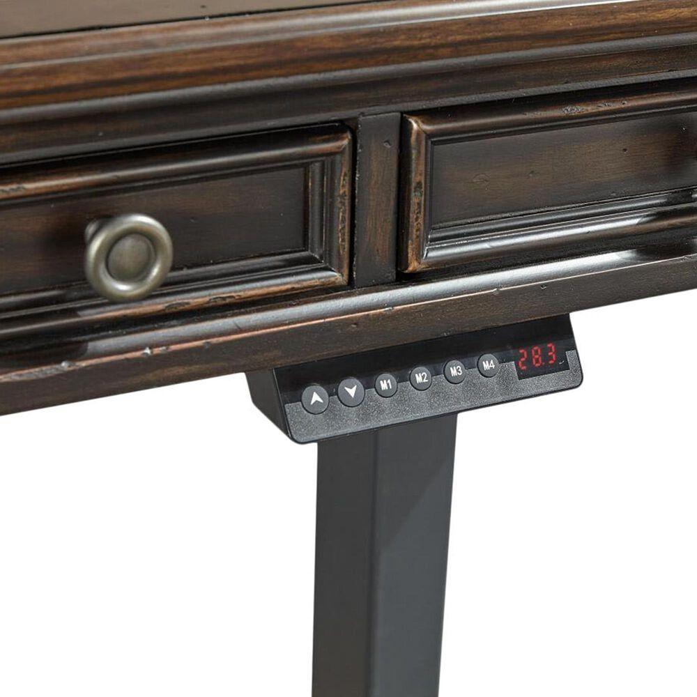 """Riva Ridge Hampton 60""""Lift Desk in Black Cherry, , large"""