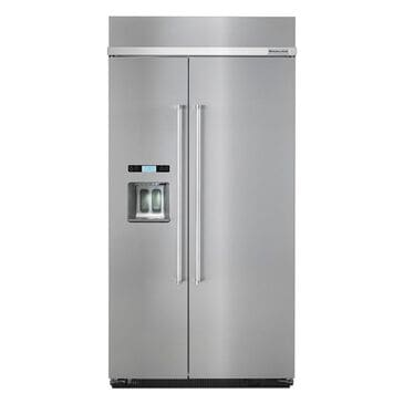 """KitchenAid 42"""" Built-in Side by Side Refrigerator, , large"""