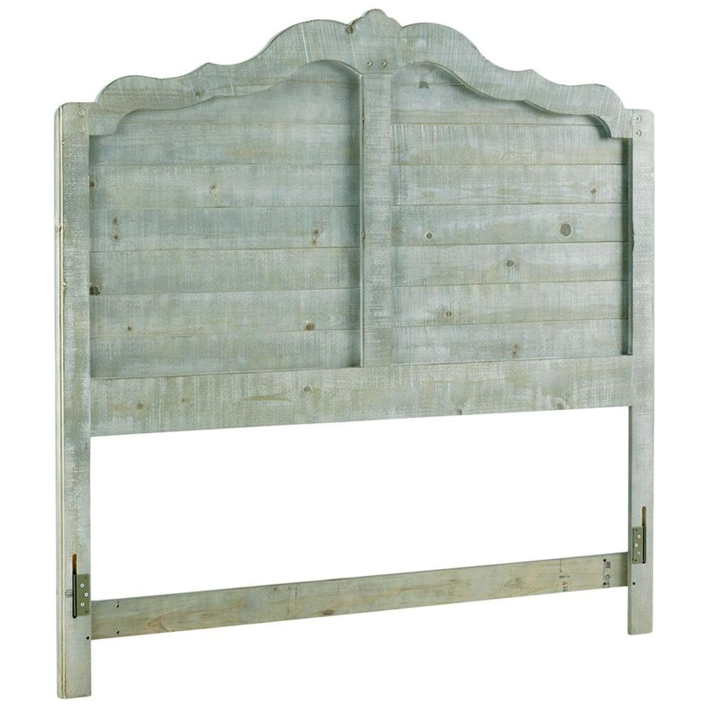 Tiddal Home Chatsworth Full Panel Bed in Mint Distressed, , large
