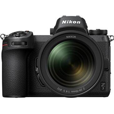 Nikon Z7 Mirrorless Digital Camera with 24-70mm Lens , , large