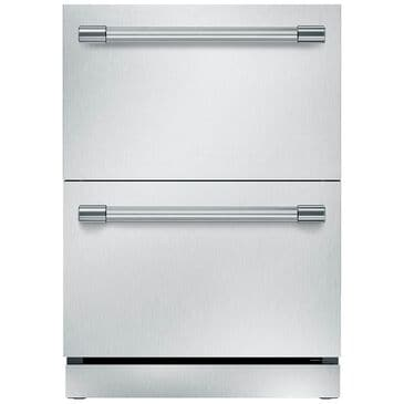 """Thermador 24"""" Under Counter Double Drawer Refrigerator Professional Series Handle with SoftClose Drawers , , large"""