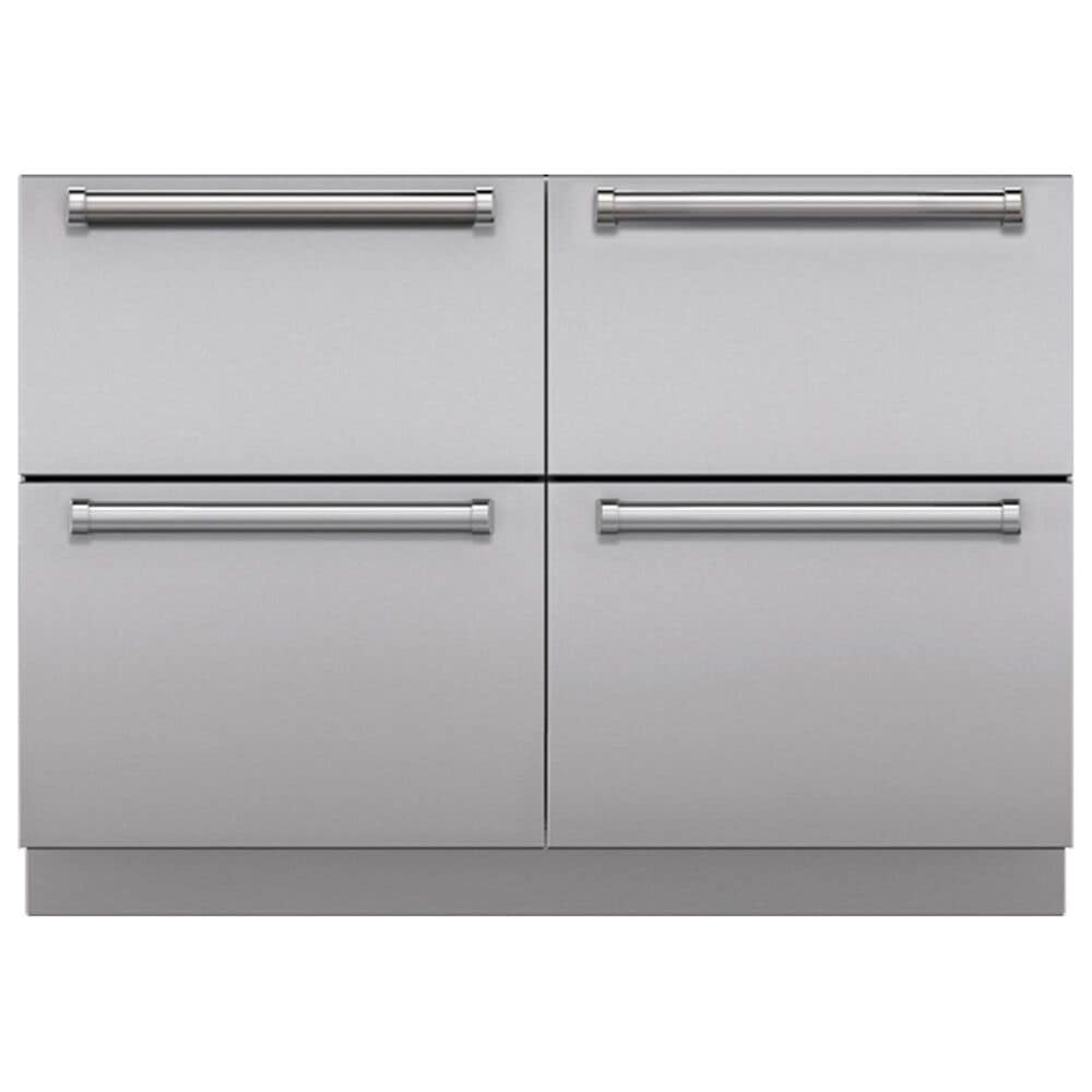 Roth Distributing Integrated Drawer Dual Installation Kit in Stainless Steel, , large
