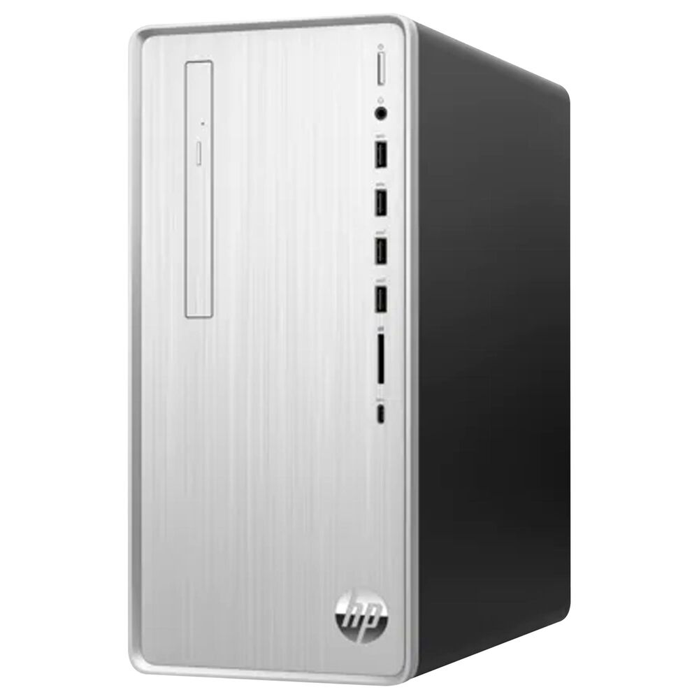 HP Pavilion Desktop | Core i7-10700 - 16GB RAM - Intel UHD Graphics 630 - 1TB HDD + 256GB SSD in Natural Silver, , large