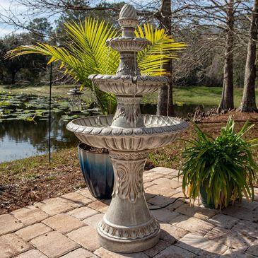 Kenroy Kiera Outdoor Fountain in Ivory, , large