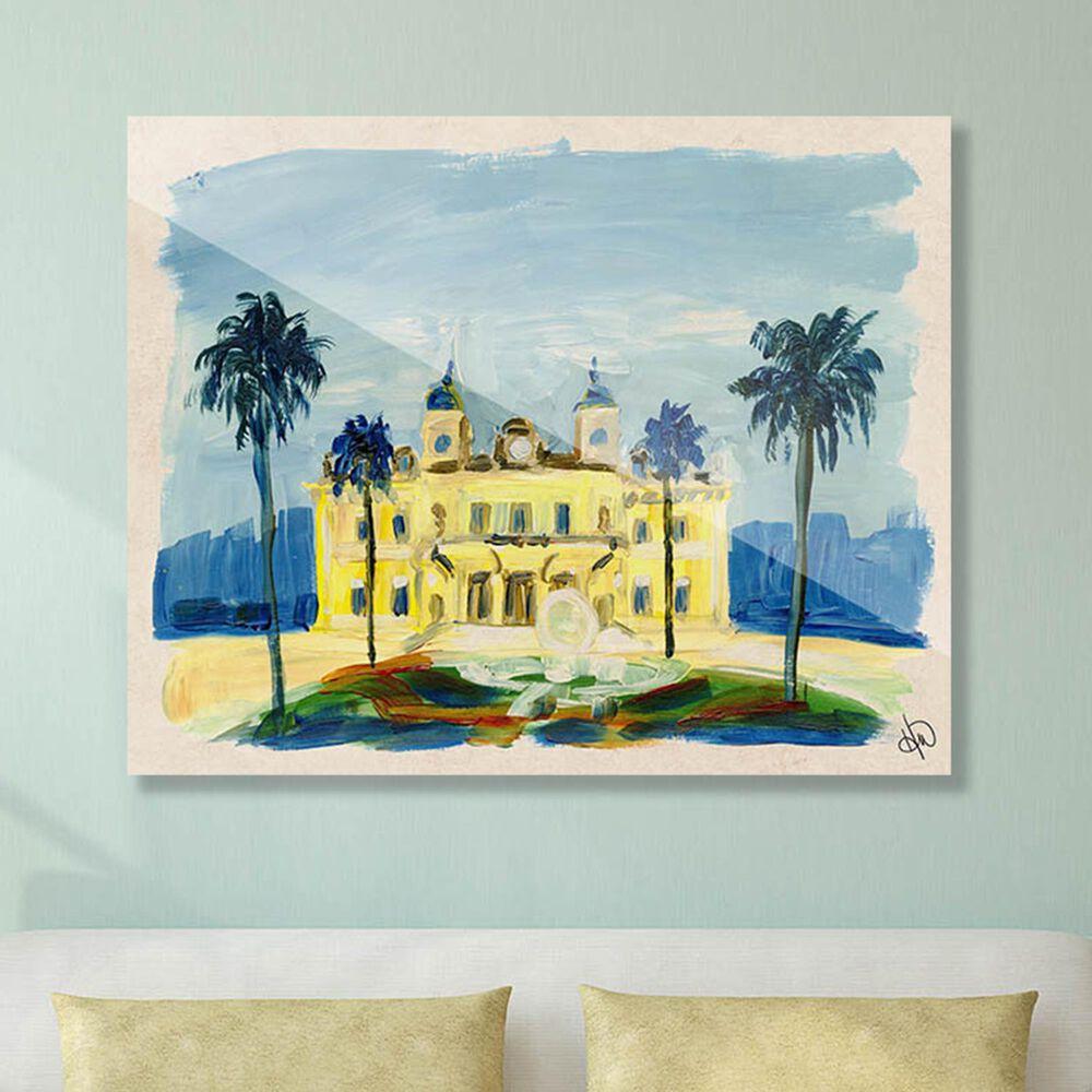 "Kathy Ireland Home ""Monte Carlo Casino"" 30"" x 40"" Acrylic Wall Art Print, , large"