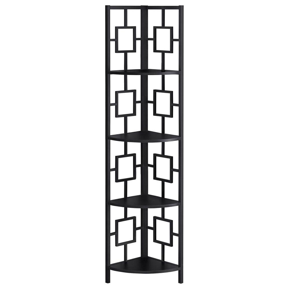Monarch Specialties Bookcase in Black, , large