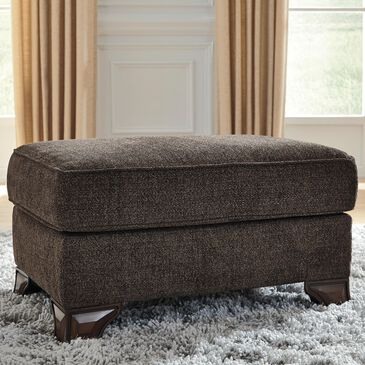 Signature Design by Ashley Miltonwood Ottoman in Teak Brown, , large