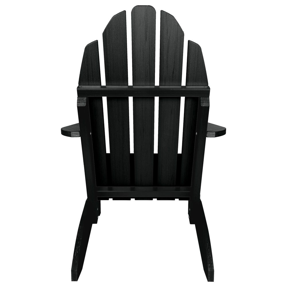 Highwood USA The Essential Adirondack Chair in Abyss (Black), , large