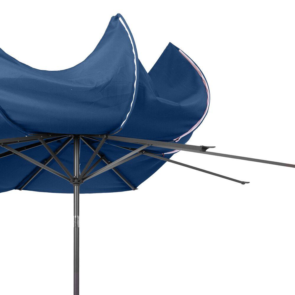 CorLiving 10' UV & Wind Resistant Patio Umbrella in Cobalt Blue, , large