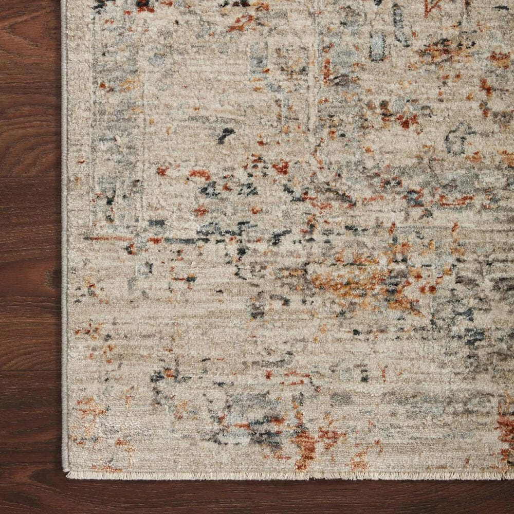 "Loloi Axel 4' x 5'7"" Silver and Spice Area Rug, , large"