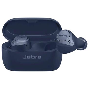 Jabra Elite Active 75t True Wireless Headphones in Navy Blue, , large