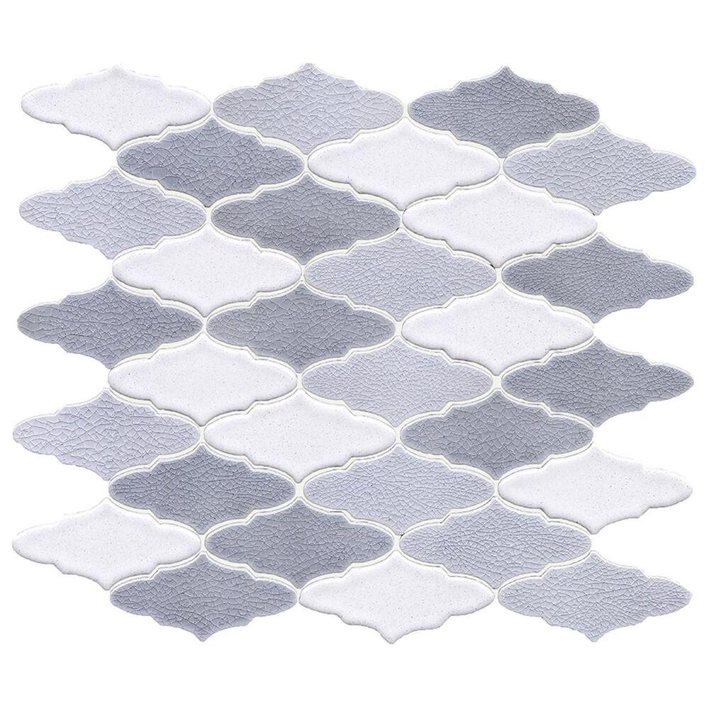 """Soci Cityscape Ryland Monaco 11.22"""" x 12.60"""" Ceramic Mosaic Sheet, , large"""