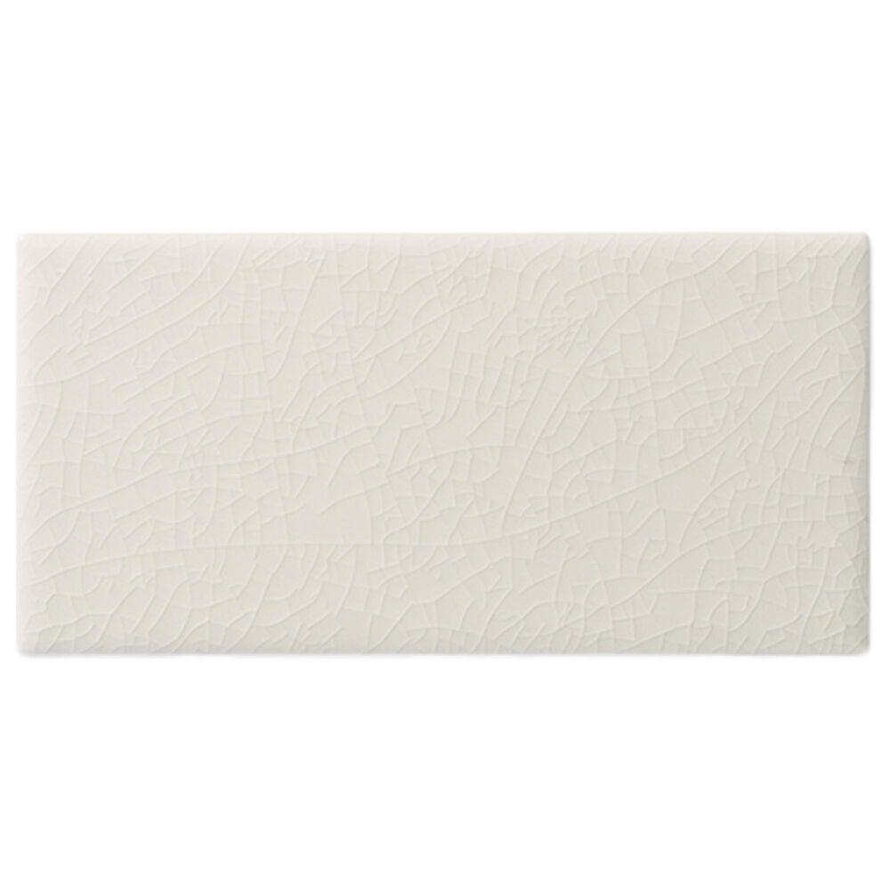 Elon Hampton White Glossy Ceramic Tile, , large