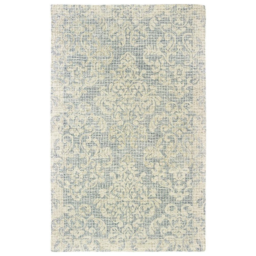 """Oriental Weavers Tallavera 55604 2'6"""" x 8' Blue and Ivory Runner, , large"""