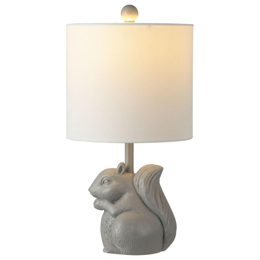 Safavieh Sunny Squirrel Table Lamp in Grey, , large
