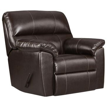 Arapahoe Home Chaise Rocker Recliner in Austin Chocolate, , large