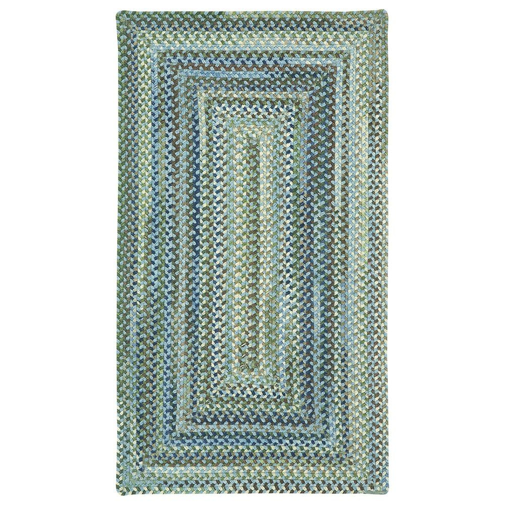Capel Homecoming 0048-400 2' x 8' Sky Blue Area Rug, , large