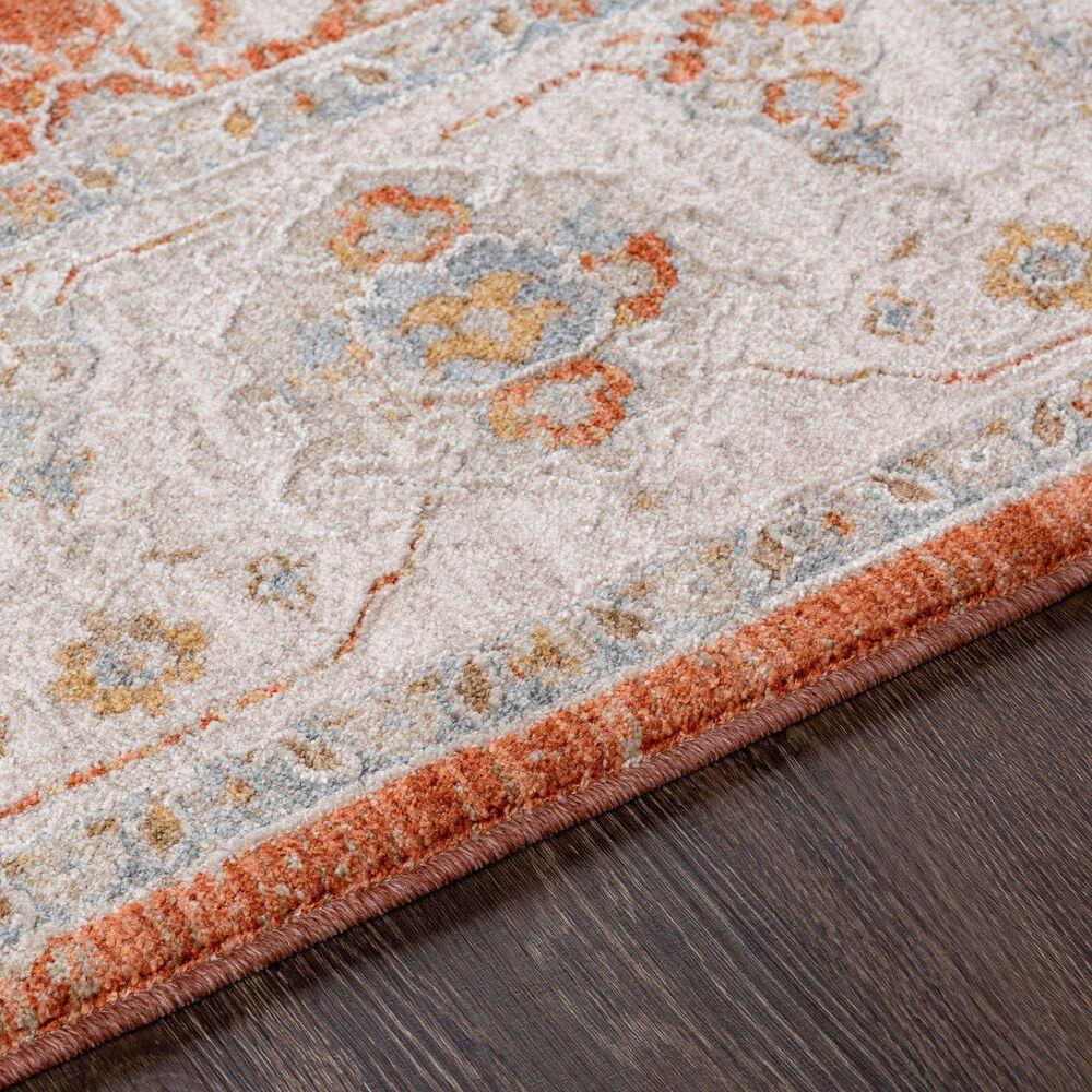 "Surya Avant Garde AVT-2317 5' x 7'5"" Orange, Blue and Beige Area Rug, , large"