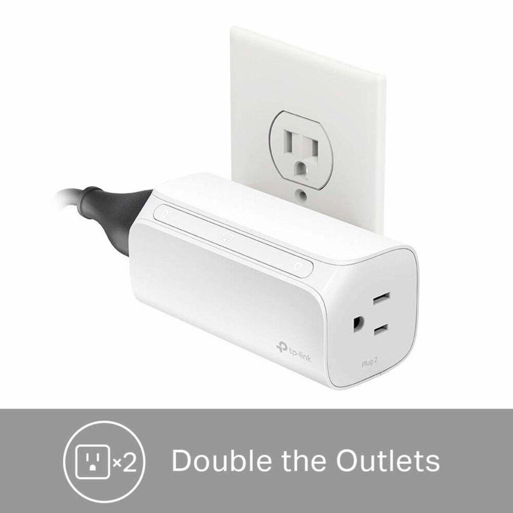 TP-LINK Kasa Smart Wi-Fi Plug, 2-Outlets, , large